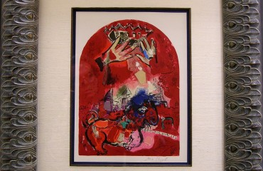Original Hand Signed Stone Lithograph by Marc Chagall – (SOLD)