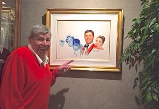 Happy 90th Birthday Mr. Jerry Lewis.  We love representing you.