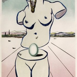 Original lithograph signed and numbered by Salvador Dali