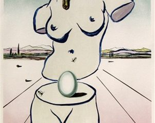 Birth of Venus by Salvador Dali  (SOLD)