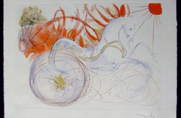 Elijah by Salvador Dali