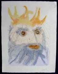 King Saul by Salvador Dali