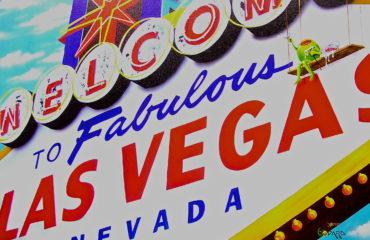 Welcome To Las Vegas by Michael Godard