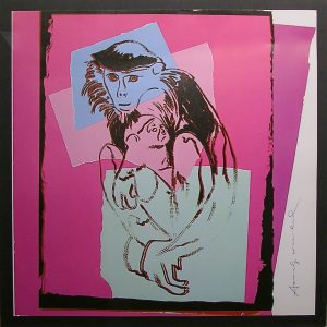 Offset Lithographic print signed in pen by Andy Warhol