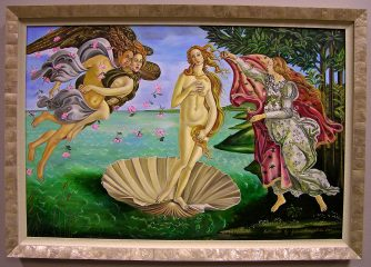 The Birth of Venus by Galina Evangelista