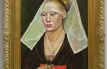 Portrait of a Lady by Galina Evangelista