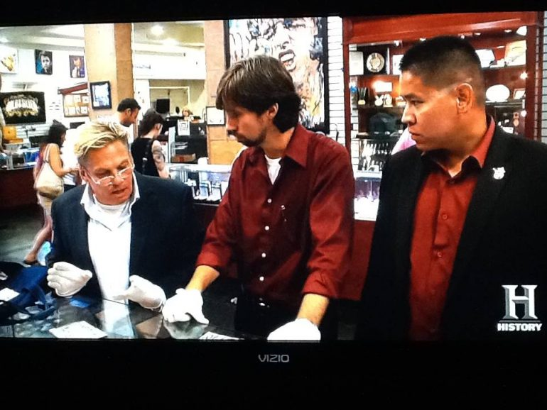 Brett And Scott Make An Appearance On Pawn Stars Art