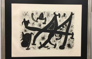 Homage to Joan Prats by Joan Miro