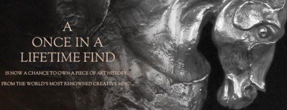 "Successful public viewing of Leonardo da Vinci's ""Horse and Rider"" November 5th at the Red Rock Resort."