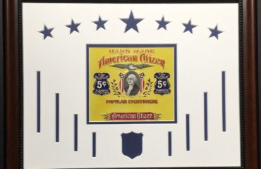 American Citizen – Cigar Label Art