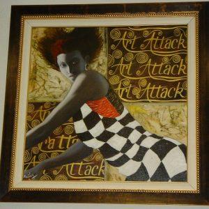 Art Attack by artist Loppo Martinez at Art Encounter