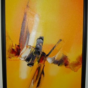 Follow the Sun by artist Paul Tapia framed at Art Encounter