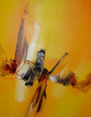 Desert Fire (re-titled by current collector) – Paul Tapia  (SOLD)