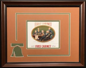 First Cabinet – Cigar Label Art