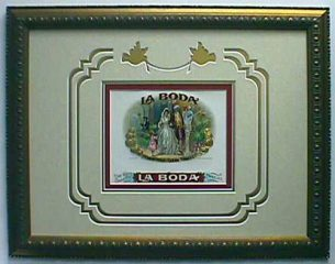 La Boda – Cigar Label Art