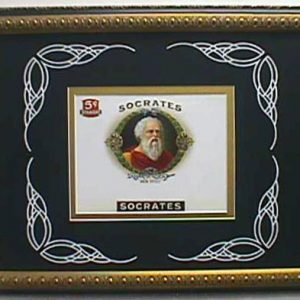 Socrates - Cigar Label Art