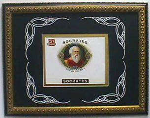 Socrates – Cigar Label Art – SOLD OUT