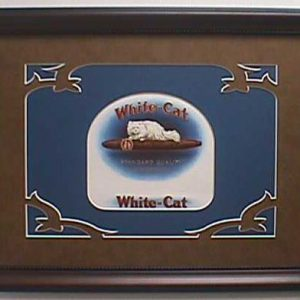 White Cat - Cigar Label Art