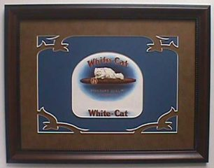 White Cat – Cigar Label Art
