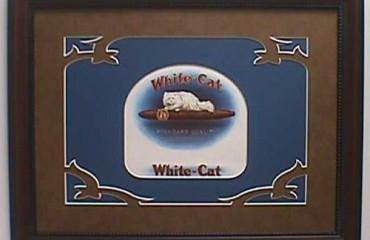 White Cat – Cigar Label Art