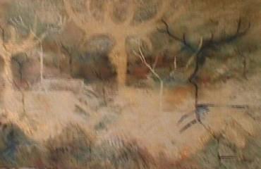 Antlers in the Mist – Vance Larson