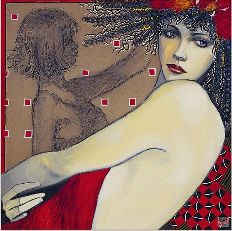 Danseuse Orientale by artist Loppo Martinez