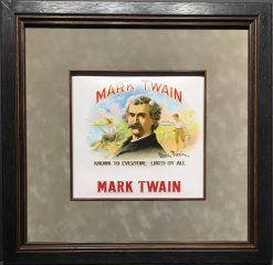 Mark Twain – Cigar Label Art