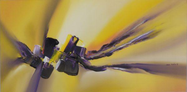 Hues in Purple by artist Paul Tapia