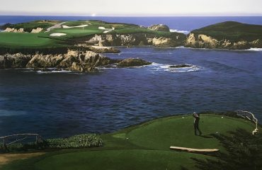 16th At Cypress Point by Danny Day