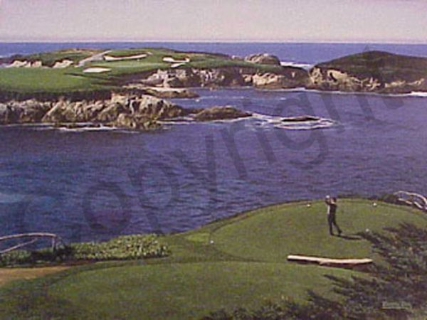 16th at Cypress Point by artist Danny Day