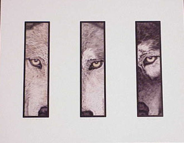 The Predators Vertical by artist D.K. Dennis
