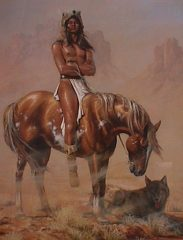 Desert Wolf – Hermon Adams