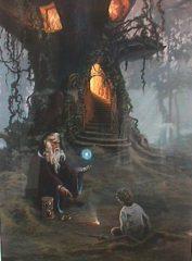 Merlin's Oak – Hermon Adams