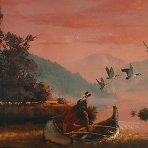 Return of the Hunter by artist Herman Adams
