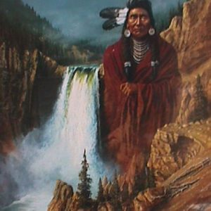 Spirit of the Land by artist Herman Adams