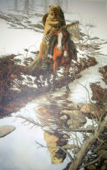 Spirit of the Grizzly – Mini Print – Bev Dolittle