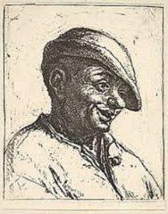 Laughing Peasant – Adriaen van Ostade  (SOLD)