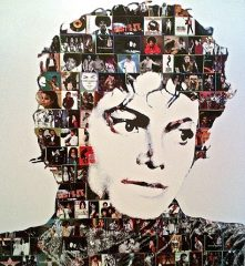 Michael Jackson Collage by Steve Kaufman – 2008
