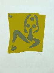 Le Nu Avec Grenouille by Henri Matisse