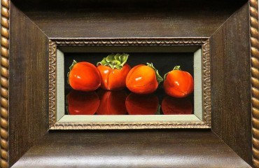 FOUR PERSIMMONS – by Luba Stolper
