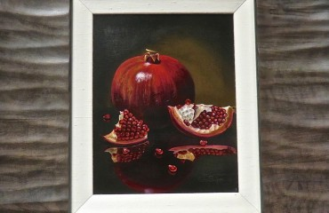 POMEGRANATE – by Luba Stolper (SOLD)