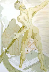 Charon (Inferno – canto 3) by Salvador Dali