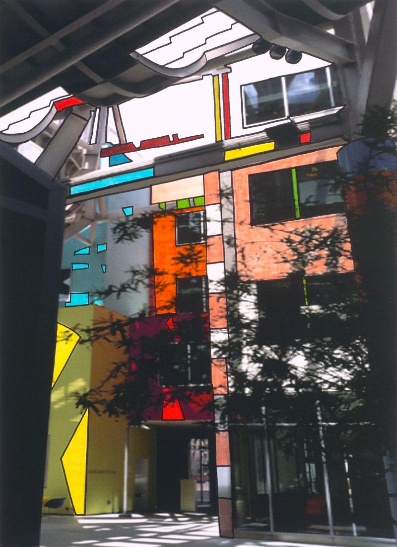 Homage To Mondrian by Jon Jannotta