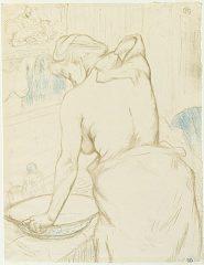 Femme Qui Se Lave – La Toilette by Henri de Toulouse-Lautrec