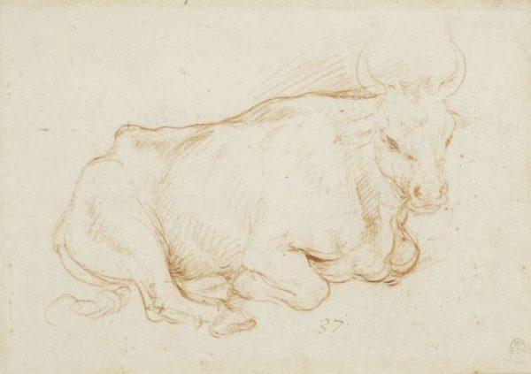 151 recto - Leonardo da Vinci Queen's Collection