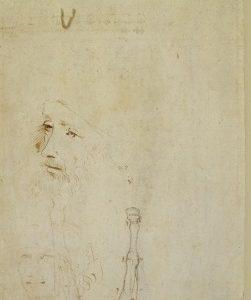 126 verso - by Leonardo da Vinci - Art encounter - Queen's Collection