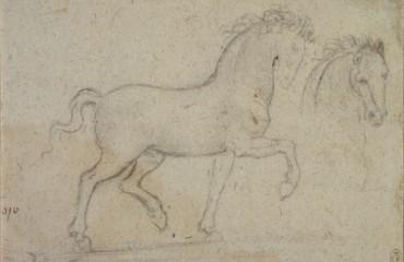 136 recto – by Leonardo da Vinci