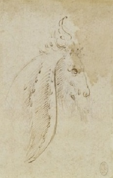 152 recto - by Leonardo da Vinci - Art encounter - Queen's Collection