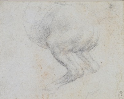 115 recto - by Leonardo da Vinci - Art encounter - Queen's Collection