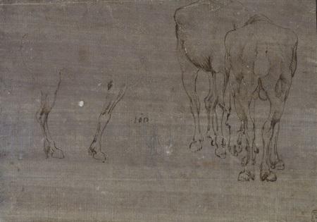 72 recto by Leonardo da Vinci Queen's Collection